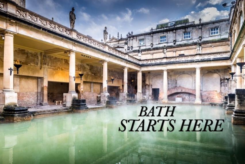 BATH STARTS HERE - Roman Baths