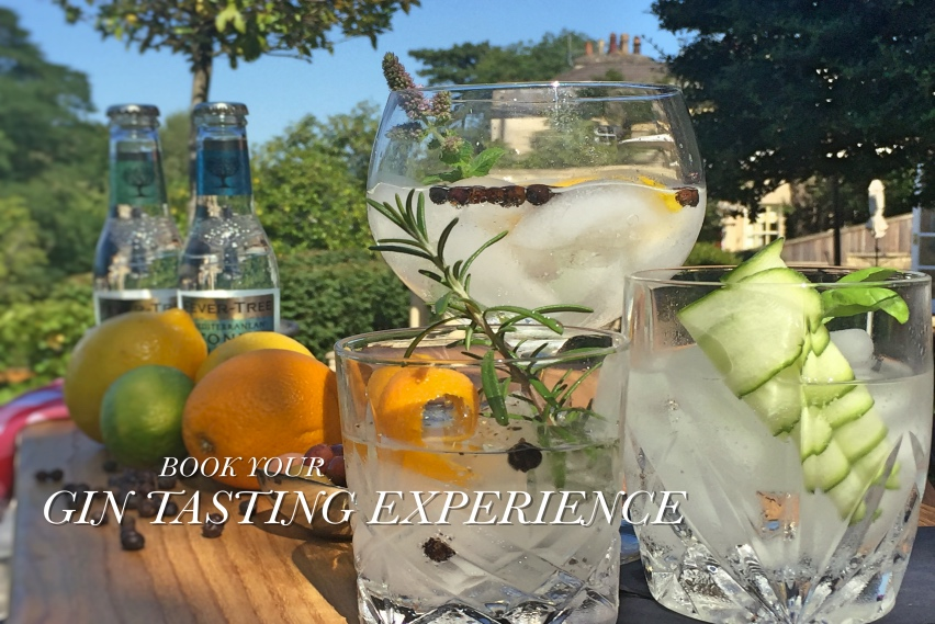 FRONT PAGE Book Your Gin Tasting Experience